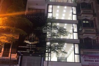 Cho thuê nhà mới xây cực đẹp mặt phố Bạch Mai 110m2x3 tầng, mặt tiền 4,8m