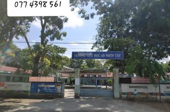 Bán đất giá rẻ đối diện trường học An Nhơn Tây
