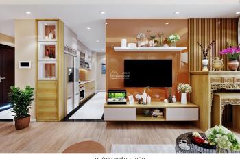 Ngoại giao căn hộ 3PN, giá chỉ 3.434 TỶ, tầng 22, view Sông Hồng, vào ở luôn tòa B