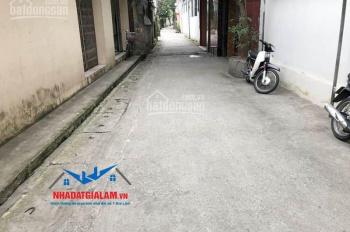 Bán đất 50m Kiên Thành, Gia Lâm. Đường vào 3m xe máy, đất vuông vắn, hướng Tây Bắc