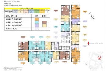 Cần bán gấp căn 3 phòng ngủ, DT 97m2 full nội thất cơ bản tầng 16 tòa S4.03