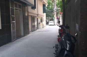Bán nhà phố Thái Thịnh DT 58m2 x 4,5T MT 3,6m đường trước nhà thông rộng cách ô tô 20m