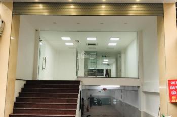 Cho thuê mặt bằng tầng 1, 100m2 làm cửa hàng ở phố Trung Liệt - Chính chủ, tiếp môi giới
