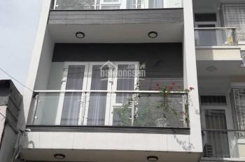 Bán Nhà hẻm 442/ Lê Quang ĐỊnh (rộng 6m) thông với Nguyễn Văn Đậu, Dt 4x20m, KC: 3 Lầu, giá 7.8 tỷ