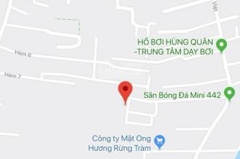 Bán nền thổ cư giá rẻ hẻm 146 Hoàng Quốc Việt (5x15=75 m2) giá 1,55 tỷ