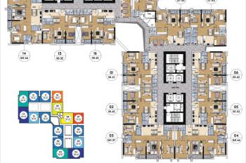 CC bán cắt lỗ CHCC Goldmark City 1513 - 83,46m2 R3,1614 - 160m2 R4 giá 25 tr/m². LH: 0966292726