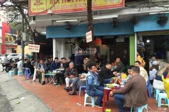 Sang nhượng cừa hàng phố ẩm thực ngõ 298 Tây Sơn mặt tiền 5.5m vỉa hè siêu rộng.