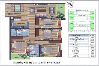 Gia đình cần bán gấp căn chung cư CT4 Vimeco, Nguyễn Chánh DT 148,2m2. Giá rẻ CC: 0983 262 899