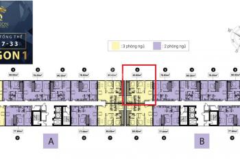 Chính chủ bán TOPAZ ELITE block Dragon 1B tầng 17-06 3PN 2WC bao hết phí thuế lh: 0907700004