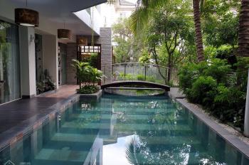 Nhà Hoàng Văn Thụ, Tân Bình, 5x20m, trệt, 5 lầu có hồ bơi, thang máy, phòng karaoke. Giá: 25 tỷ