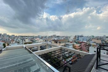 Cho thuê nguyên căn,Mô Hình building VP, MT CỘNG HÒA, nhà mới xây - 8x29,trệt 4 lầu,220tr/th