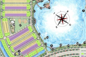 Chính chủ cần bán biệt thự đơn lập có sông view hồ Nguyệt Quế 16, Vinhomes The Harmony