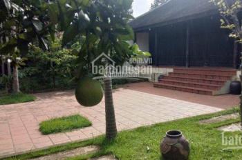 Chính chủ cần bán gấp nhà vườn nghỉ dưỡng tại Phú Cát, Quốc Oai tặng đồ gỗ cổ có giá trị