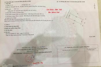 BÁN ĐẤT BÀU BÀNG, SHR, CÔNG CHỨNG NGAY, LH 0916 388 545