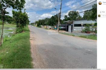 Bán lô đất thổ cư mặt tiền ĐT 822, thị trấn Hiệp Hòa, huyện Đức Hòa, Long An, DT 10x45m