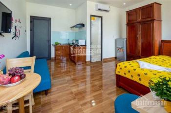 Cho thuê căn hộ studio DT 24m2, có chỗ nấu ăn, nhà vệ sinh riêng, không chung chủ, giá chỉ 4.8tr/th