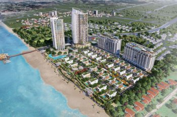 Căn hộ 2PN dự án ARIA Vũng Tàu tầng 9,10 view 100% trực diện biển, HDBANK hỗi trợ 60%,LH:0941175533
