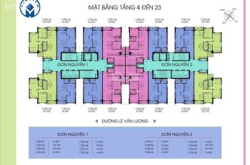 Bán chung cư Handi Resco tại Lê Văn Lương, Thanh Xuân, Hà Nội, DT 97.8m2, 03 PN, 02 phụ, 01 PK