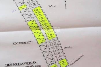 Bán lô đất 51.5 m2 hẻm 185 - đường Ngô Chí Quốc P. Bình Chiểu, Thủ Đức, 2.2 tỷ