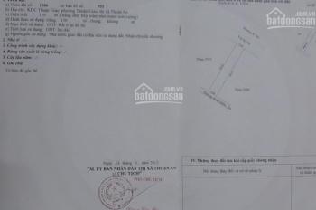 Bán gấp nhà 1 trệt 1 lầu và 7 phòng trọ KDC Thuận Giao, 150m2, giá 3.2 tỷ, LH 0908913611