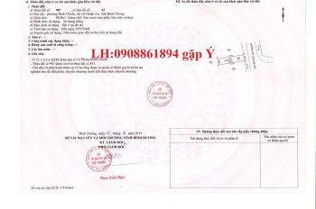 Bán gấp đất MT Bình Chuẩn 42, ngay ngã tư Bình Chuẩn, Thuận An, SR, giá: 1.4 tỷ/80m2, 0908861894 Ý