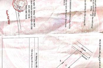 Cần bán lô đất gần chợ An Nhơn Tây, DT: 10m x 50m, Sổ hồng đầy đủ, rõ ràng. Gía: 1.45 tỷ.