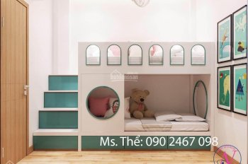 Bán nhà có sổ hồng, 2PN, 2WC, nhà mới & đẹp (hình), full nội thất cao cấp. Xem nhà 0902467098 thể