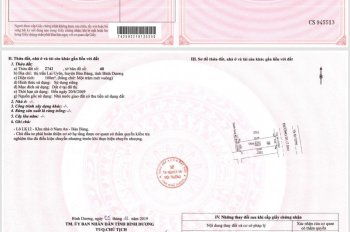 Đất mặt tiền Quốc Lộ 13 có sổ hồng, giá 470 triệu / nên. CK cực cao
