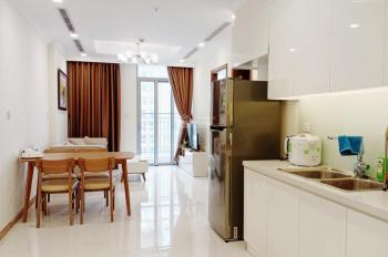 chính chủ gửi cho thuê gấp 1 phòng ngủ Vinhomes Central Park giá 17 triệu đầy đủ nội thất
