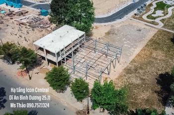 Bán đất có sổ đỏ dự án Icon Central LK Lê Hồng Phong, thị xã Dĩ An, BD. 0907571324 Thảo