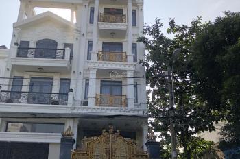 Nhà phố Q. 12 kết cấu lửng 4 lầu, 5PN trang bị thang máy đường trước nhà 12m, có sổ hồng riêng