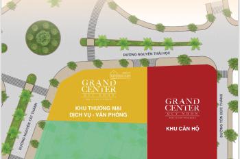 Chính thức nhận giữ chỗ 50 triệu/căn Shophouse Grand Center trung tâm Quy Nhơn, 0909010669