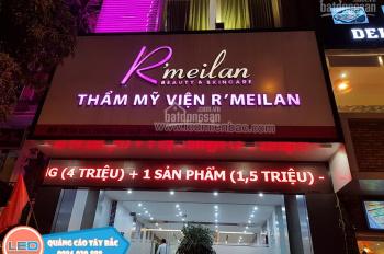 Cho thuê nhà mặt phố Bùi Thị Xuân 70m2, 5 tầng, MT5m. Nhà mới đẹp, thông sàn. Giá thuê: 60tr.