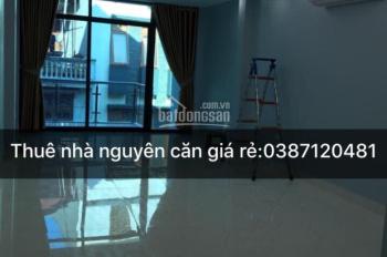 Nhà Nguyễn Cơ Thạch 60m2 x 5T, 19 triệu/tháng ô tô đỗ cửa