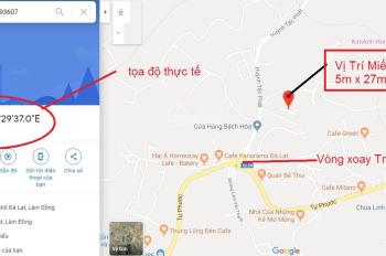 Bán 135m2 (5mx27m) đường Huỳnh Tấn Phát, Phường 11, cách vòng xoay Trại Mát 300m