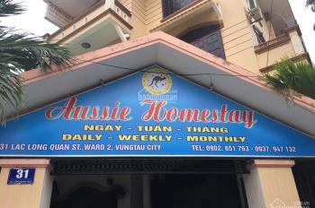 Cần bán gấp khách sạn 2 mặt tiền, kinh doanh cực tốt ngay tại Lạc Long Quân, Vũng Tàu