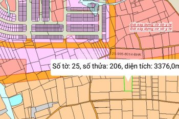 Bán 3376m2 (3686 ) xã Tân Bình, Vĩnh Cửu, Đồng Nai.