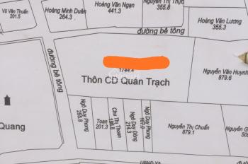 Bán đất diện tích lớn Quán Trạch, Liên Nghĩa, Văn Giang, Hưng Yên. LH E Minh 0916247433