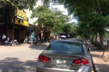 Bán đất mặt phố Quan Hoa,Nguyễn Khánh Toàn, Cầu Giấy, 85 m2 ngõ trước sau 16 tỷ