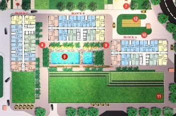 Bán căn hộ 2PN CitiSoho trung tâm Q2 - thanh toán chỉ với 600tr nhận nhà ở ngay - LH 0938783872