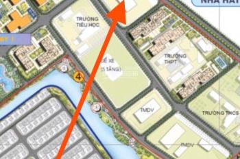 Ra hàng Shop TMDV đường 52m, Khu Ruby Vinhomes Gia Lâm. Hàng ký mới CĐT. PKD 0911 781 333