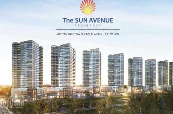 Cần tiền bán gấp căn hộ 2PN+2WC, 76m2, View sông Đông Nam - The Sun Avenue, Quận 2. LH 097.884.8835