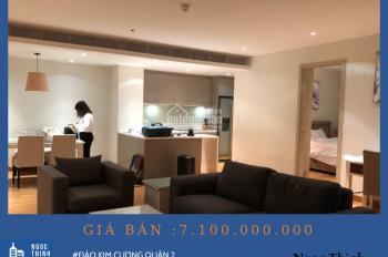 Bán căn hộ 2 phòng ngủ cao cấp Tháp Brillant giá 7.1 tỷ ( Đã bao gồm thuế phí )