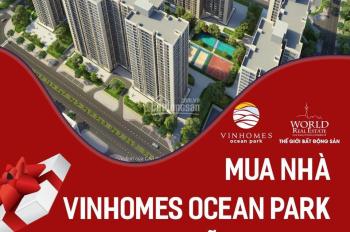 Mua nhà Vinhomes Ocean Park miễn học phí Vinschool