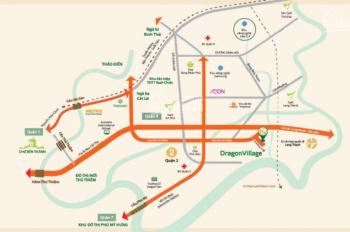 Nhà phố thương mại - shophouse Dragon village, p. Phú Hữu, Q9, 225.45m2, giá 7 tỷ 2, LH: 0909519292