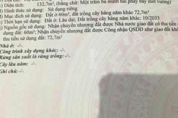 Đất Trung Tâm Thị Trấn Long Hải 2 Mặt Tiền. LH: 0923211368 chính chủ