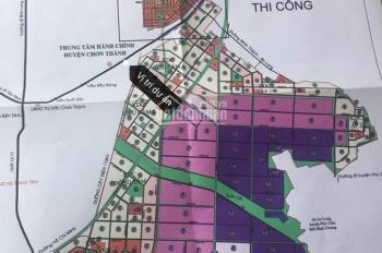 Bán đất tái định cư Becamex đối diện trung tâm hành chính Chơn Thành