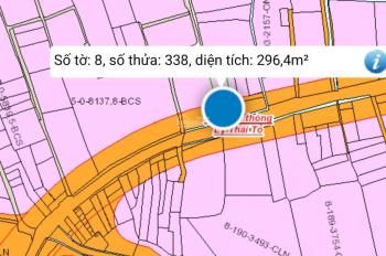 Làm ăn thua lỗ nên cần bán gấp lô đất trả nợ, Mt Lý Thái Tổ, cách đường 319 chỉ 100m