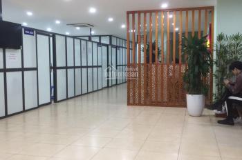 Cho thuê sàn tầng 3 mặt phố Hoàng Quốc Việt.107m2,mt9m giá 17tr.LH:0888486262