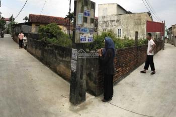 CC cần bán 123m2 đất thôn Lại Ốc - Long Hưng - Văn Giang mặt tiền 9m ngõ rộng ô tô đỗ cửa